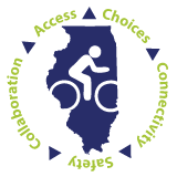 Illinois Bike Transportation Plan logo